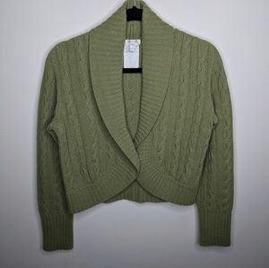 MaxMara Italy Sweater Cashmere Wool Capelet sz M